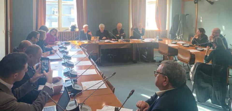 18 décembre 2019. Réunion conjointe des groupes Ruralités du Sénat et de l'Assemblée Nationale.