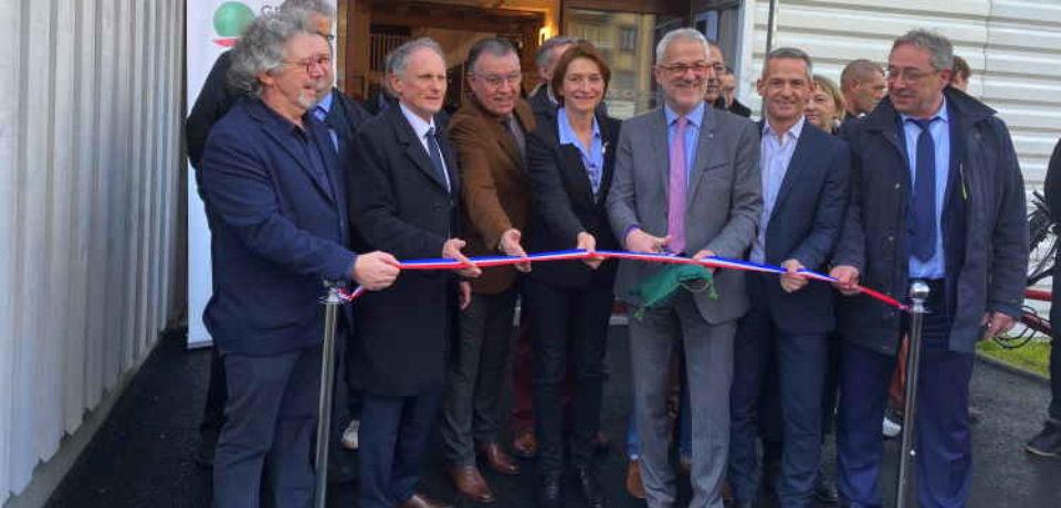 31 janvier 2020. Inauguration de la (nouvelle) Quincaillerie, à Guéret.
