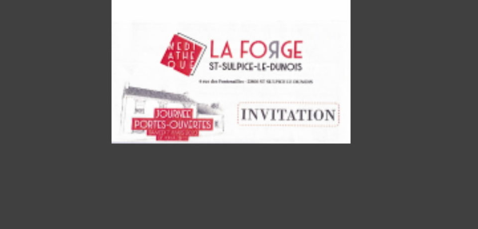 7 mars 2020. Inauguration de la médiathèque de Saint Sulpice le Dubois.